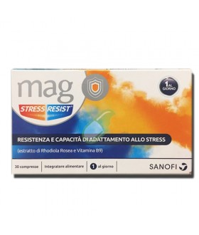 SANOFI SPA Mag Stress Resist 30cpr