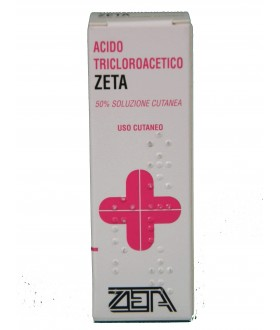 ZETA FARMACEUTICI SPA Acido Tricloroacetico 50% 10ml