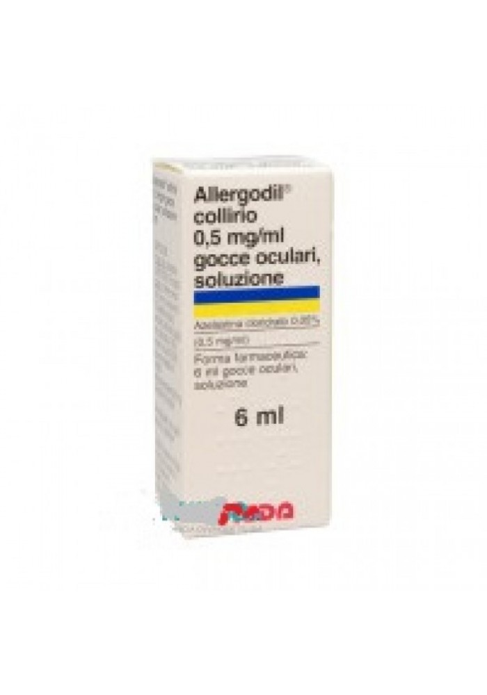 Allergodil*coll Fl 6ml 0,05%