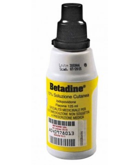 Betadine*soluz Cut 125ml 10%
