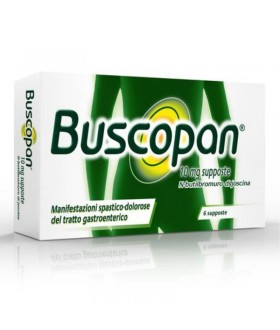 SANOFI SPA Buscopan*6supp 10mg