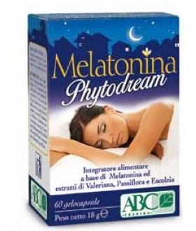MELATONINA PHYTODREAM 60CPS ABC