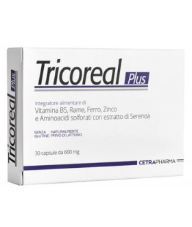 TRICOREAL PLUS 30CPS 600MG
