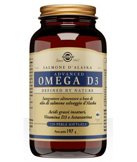ADVANCED OMEGA D3 120PRL SOLGAR