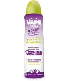 VAPE  PHARM DERM &DRESS 150ML