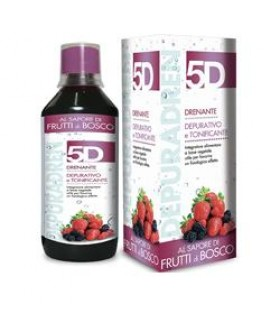 5D 013 FRUTTI BOSCO 500ML