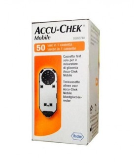 ACCU CHEK MOBILE 50TEST MIC2