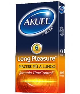 AKUEL BY MANIX LONG PLEASURE 6PZ