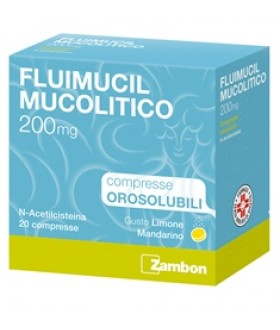 Fluimucil Mucol*20cpr Oro200mg