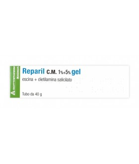 Reparil Gel Cm*40g 1%+5%