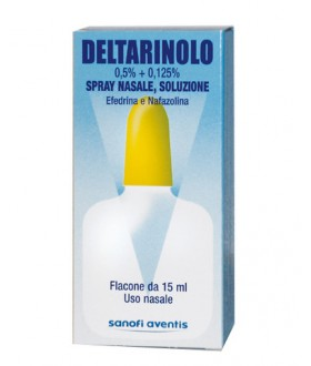 Deltarinolo*spray Nas Fl 15ml