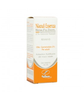 Niaouli Essenza*2% Gtt 10ml